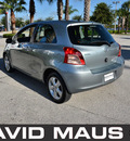 toyota yaris 2008 silver hatchback gasoline 4 cylinders front wheel drive manual 32771