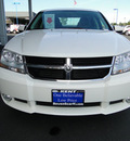 dodge avenger 2010 white sedan r t gasoline 4 cylinders front wheel drive 4 speed automatic 98032