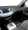 hyundai genesis 2012 dk  blue sedan gasoline 6 cylinders rear wheel drive automatic 28805
