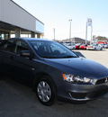 mitsubishi lancer 2008 black sedan de gasoline 4 cylinders front wheel drive automatic 27215