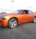 dodge charger 2011 orange sedan rt plus gasoline 8 cylinders rear wheel drive shiftable automatic 60915