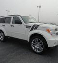 dodge nitro 2010 white suv heat gasoline 6 cylinders 4 wheel drive automatic 60915