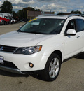 mitsubishi outlander 2007 white suv xls gasoline 6 cylinders front wheel drive automatic 60007
