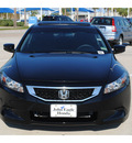honda accord 2010 black coupe ex gasoline 4 cylinders front wheel drive automatic 77065