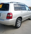 toyota highlander 2005 silver suv gasoline 6 cylinders front wheel drive automatic 90241