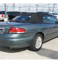 chrysler sebring 2006 green touring gasoline 6 cylinders front wheel drive 4 speed automatic 77090