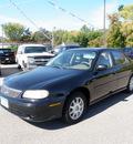 chevrolet malibu 1998 black sedan ls gasoline 6 cylinders front wheel drive 4 speed automatic 55321