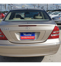 mercedes benz c class 2001 gold sedan c240 gasoline 6 cylinders rear wheel drive automatic 77090