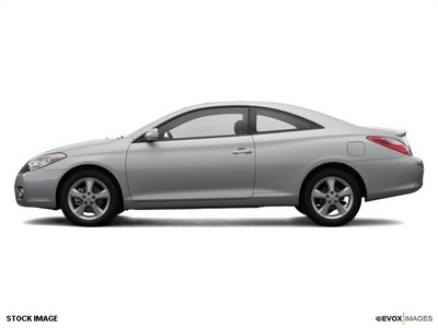 toyota camry solara 2007 blue coupe sport gasoline 4 cylinders front wheel drive automatic 45342