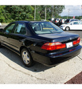 honda accord 1999 flamenco black sedan ex v6 gasoline v6 front wheel drive 4 speed automatic 07724