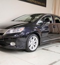 lexus hs 250h 2010 black sedan navi hybrid 4 cylinders front wheel drive cont  variable trans  55391