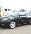 mazda mazda3 2008 black hatchback gasoline 4 cylinders front wheel drive automatic 80504