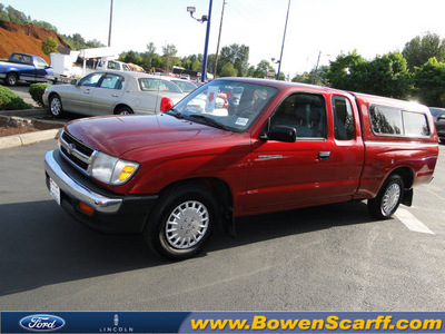 toyota tacoma 1998 red pickup truck gasoline 4 cylinders rear wheel drive automatic 98032