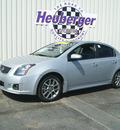nissan sentra 2007 silver sedan se r spec v gasoline 4 cylinders front wheel drive 6 speed manual 80905