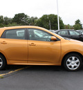 toyota matrix 2009 orange hatchback s gasoline 4 cylinders all whee drive automatic 07730