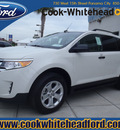 ford edge 2012 white se gasoline 4 cylinders front wheel drive automatic 32401