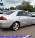 honda accord 2006 alabaster silver sedan ex v 6 gasoline 6 cylinders front wheel drive automatic 80910