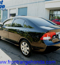 honda civic 2010 crystal black sedan lx gasoline 4 cylinders front wheel drive automatic 80910