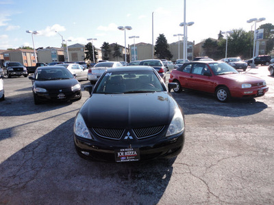 mitsubishi diamante 2004 black sedan ls gasoline 6 cylinders front wheel drive automatic with overdrive 60546