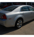 chevrolet malibu 2010 silver sedan lt flex fuel 4 cylinders front wheel drive 6 speed automatic 77090