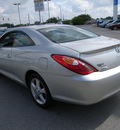 toyota camry solara 2006 silver coupe sle gasoline 6 cylinders front wheel drive automatic 46219