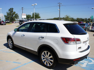mazda cx 9 2007 white suv grand touring gasoline 6 cylinders front wheel drive automatic 76210