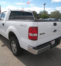 ford f 150 2008 white styleside gasoline 8 cylinders 4 wheel drive automatic 81212