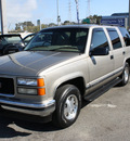 gmc yukon 1999 pewter suv sle gasoline v8 rear wheel drive automatic 94010