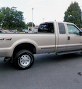 ford f 250 super duty 1999 tan pickup truck sc xlt offrd 4x4 diesel v8 4 wheel drive 4 speed with overdrive 55124