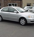 toyota corolla 2007 silver sedan le gasoline 4 cylinders front wheel drive automatic 06019