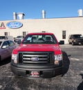 ford f 150 2011 red xl flex fuel 8 cylinders 2 wheel drive automatic with overdrive 60546