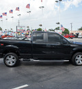 ford f 150 2010 black pickup truck stx gasoline 8 cylinders 2 wheel drive automatic 33021