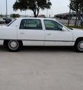 cadillac deville 1994 white sedan gasoline v8 front wheel drive automatic 75228