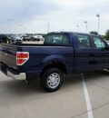 ford f 150 2011 dk  blue xl flex fuel 6 cylinders 2 wheel drive automatic 76108