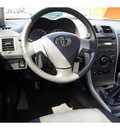 toyota corolla 2009 black sedan s gasoline 4 cylinders front wheel drive 5 speed manual 47172