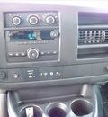 gmc savana passenger 2012 white van lt 3500 flex fuel 8 cylinders rear wheel drive not specified 44024