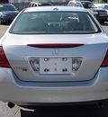 honda accord 2006 silver sedan ex v 6 gasoline 6 cylinders front wheel drive automatic 06019