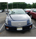 cadillac cts 2005 dk  blue sedan gasoline 6 cylinders rear wheel drive automatic with overdrive 08902