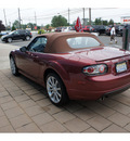 mazda mx 5 miata 2007 red touring gasoline 4 cylinders rear wheel drive automatic with overdrive 08902