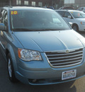 chrysler town country 2010 lt  blue van touring gasoline 6 cylinders front wheel drive automatic 99212
