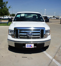 ford f 150 2011 white xl flex fuel 8 cylinders 2 wheel drive automatic 76108