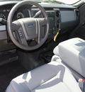 ford f 150 2011 white xl flex fuel 8 cylinders 2 wheel drive automatic 76108