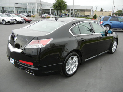 acura tl 2010 black sedan base gasoline 6 cylinders front wheel drive shiftable automatic 55420