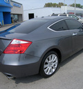 honda accord 2009 dk  gray coupe exl nav gasoline 6 cylinders front wheel drive automatic 46219