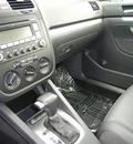 volkswagen jetta 2008 black sedan wolfsburg gasoline 4 cylinders front wheel drive automatic 46219
