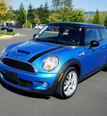 mini cooper 2007 blue hatchback s gasoline 4 cylinders front wheel drive 6 speed manual 98371