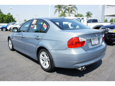 bmw 3 series 2008 lt blue sedan 328i gasoline 6 cylinders rear wheel drive automatic 91761