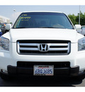 honda pilot 2008 white suv ex gasoline 6 cylinders front wheel drive automatic 91761