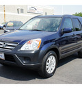 honda cr v 2006 blue suv ex 4wd gasoline 4 cylinders all whee drive automatic 91761