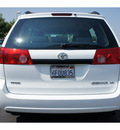 toyota sienna 2009 white van ce 8 passenger gasoline 6 cylinders front wheel drive automatic 91761